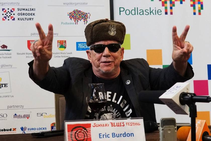 Eric Burdon at Suwałki Blues Festival 2018