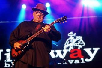 The Duke Robillard Band at Jimiway Blues Festival 2017