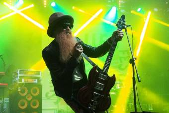 Billy F. Gibbons and Supersonic Blues Machine at Suwałki Blues Festival 2018