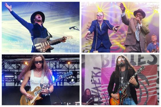 XII Suwałki Blues Festival 2019. Kenny Wayne Shepherd Band, The Cash Box Kings, Grainne Duffy i Maciej Lipina