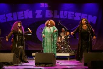 Harriet Lewis, Joan Faulkner, Deborah Woodson jako The Singing Gospel Sista's